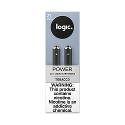 Logic Cartridges Tobacco 27 mg/ml 2 Ct 10pc In Box