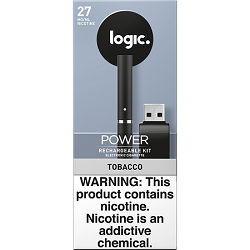 Logic Power Rechargeable Kit Tobacco 27 mg/ml 2 ct 5pc